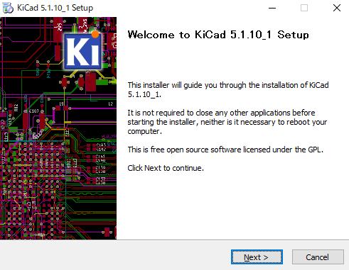kicad_インストール